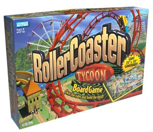 Brand New Rollercoaster Tycoon Board Game - TigerSo