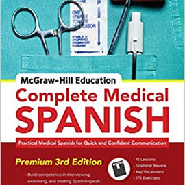 Complete Medical Spanish Workbook 3rd Edition