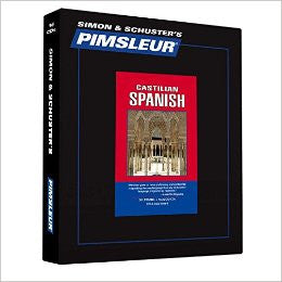 Spanish (Castilian) Pimsleur CD Course