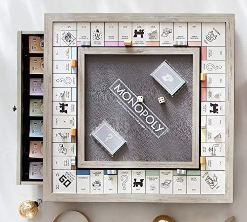 Monopoly LUXE Luxury Edition White Gold Edition