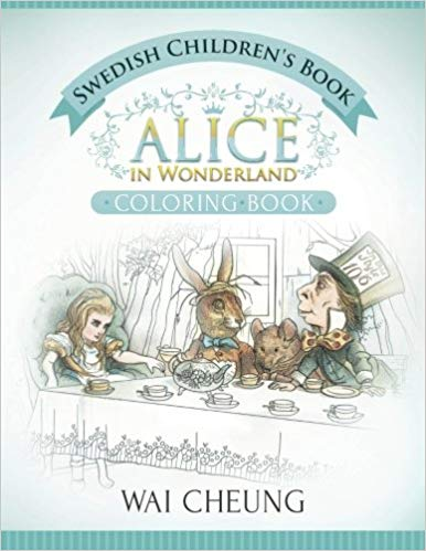 Alice in Wonderland Bilingual Book English-Swedish