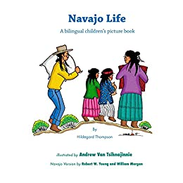 Navajo Life - Bilingual children's book