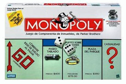 Monopoly Spanish Edition - Teacher In Spanish