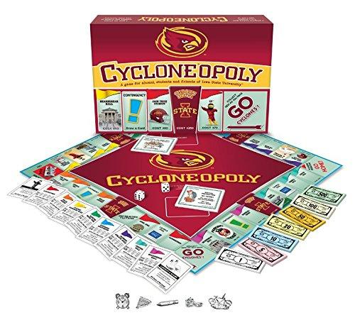 Cycloneopoly Iowa State Board Game