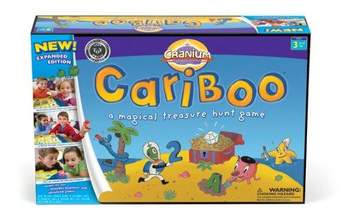 Cranium Cariboo Expanded Edition A Magical Treasure Hunt Board Game