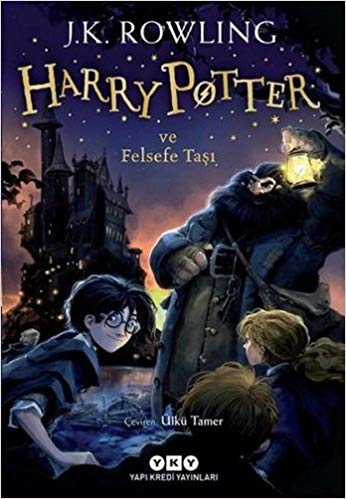 Harry Potter and the Philospher's Stone Book 1 in Turkish Paperback