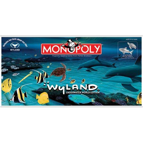 Wyland Underwater World Monopoly Board Game