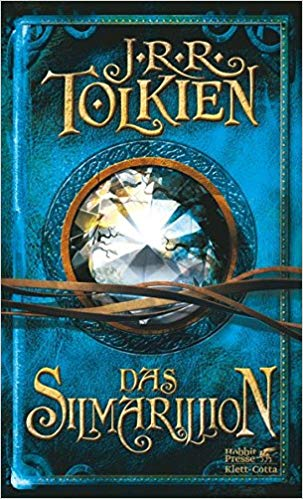 Lord of The Rings in German Das Silmarillion Paperback