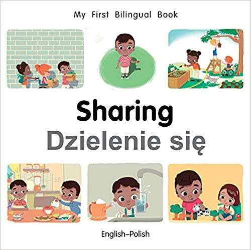 My First Bilingual Polish Book on Sharing