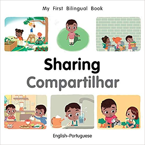 My First Bilingual Portuguese Book on Sharing