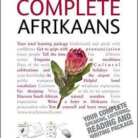 Complete Afrikaans Beginner to Intermediate Course Book and Cd's