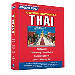 Pimsleur Thai Conversational Audio CD Course