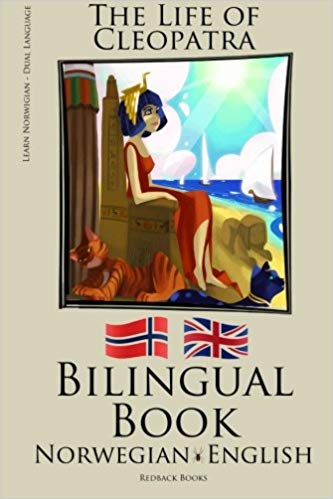 English Norwegian Bilingual Book The Life of Cleopatra