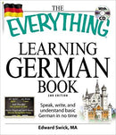 The Everything Learning German Book and CD