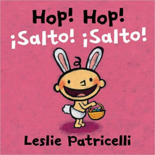 Hop! Hop! Spanish Easter Bilingual Board Book