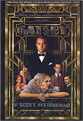 The Great Gatsby Book in Portuguese Hardcover