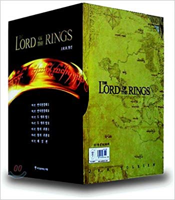 Lord of Rings Complete Book Set in Korean Hardcovers