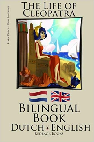 Dutch Bilingual Book The Life of Cleopatra