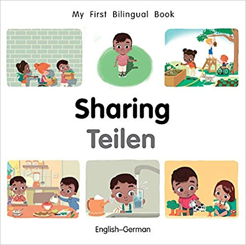 My First Bilingual German Book on Sharing