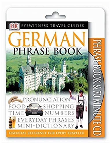German Travel Phrasebook with Audio CD