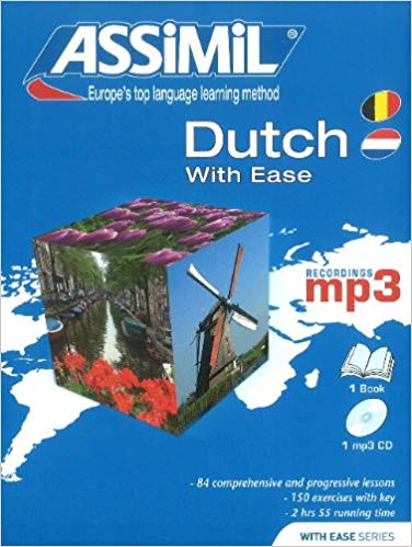 Assimil Dutch With Ease Pack Book and Audio CD's