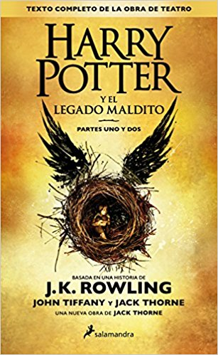 Harry Potter and the Cursed Child Book in Spanish