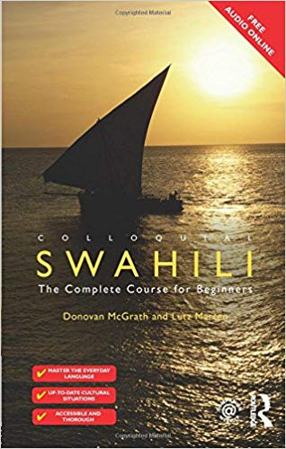 Colloquial Course Swahili Book with Audio CD