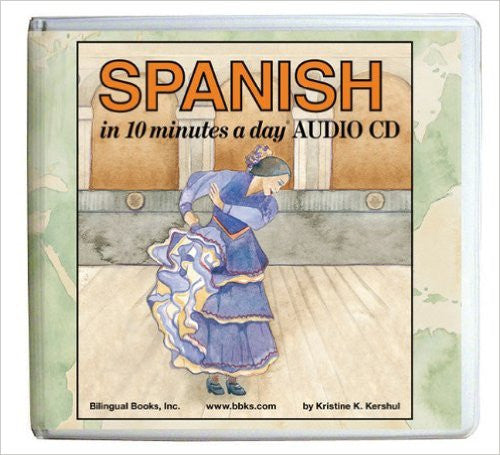 Spanish in 10 Minutes a Day (Audio CD)