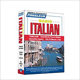 Pimsleur Italian Basic Course Audio CD'a