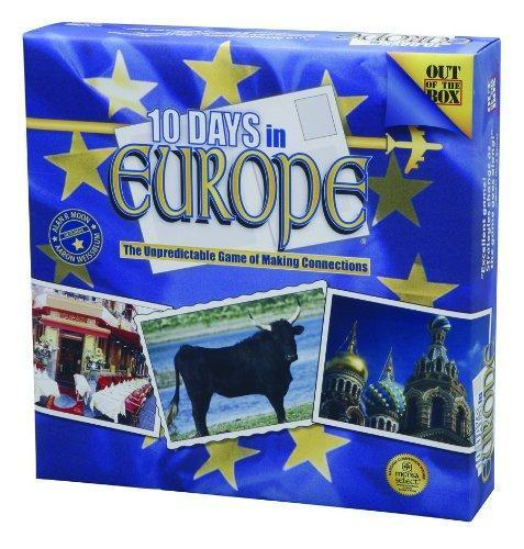 10 Days In Europe Board Game Brand New - TigerSo
