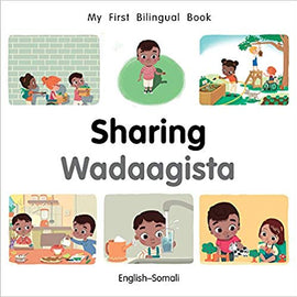My First Bilingual Somali Book on Sharing
