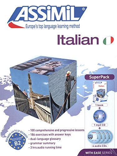 Assimil Super Pack: Italian with Ease - Assimil (Italian Edition)