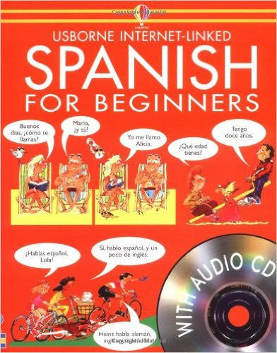 Spanish for Beginners (Languages for Beginners) (Audio CD) - Teacher In Spanish