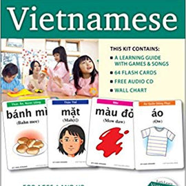 Learn Vietnamese Kit:  Flashcards, Audio CD, and Guide
