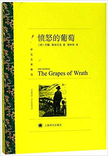 The Grapes of Wrath Book in Chinese