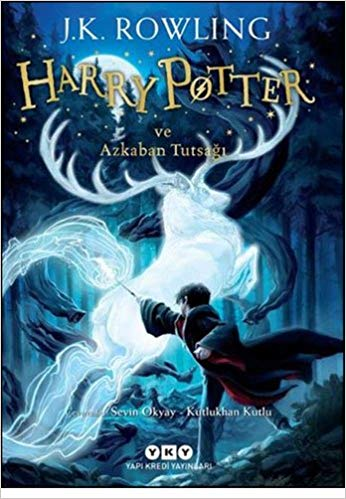 Harry Potter and the Prisoner of Azkaban Book 3 in Turkish Paperback