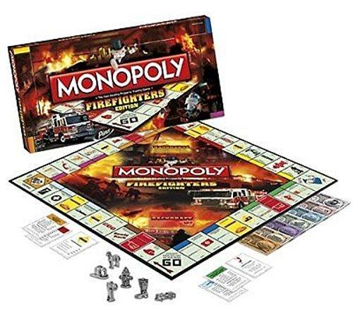 Monopoly Firefighters Board Game