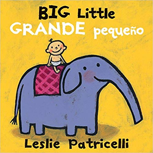 Big Little  Spanish Bilingual Board Book