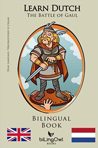 Dutch Bilingual Book The Battle of Gaul