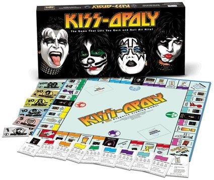 Kissopoly Board Game