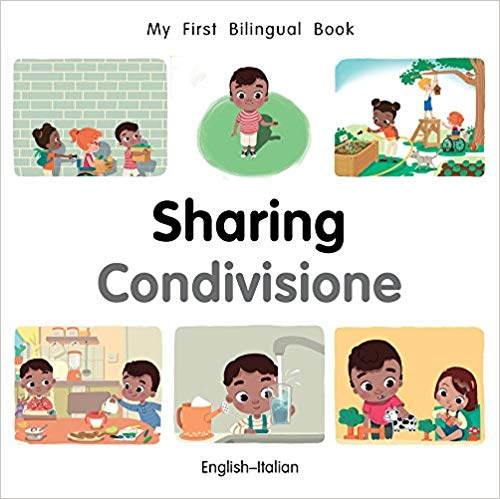 My First Bilingual Italian Book on Sharing