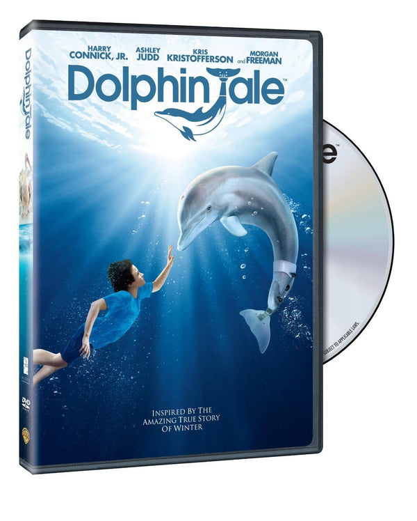 Dolphin Tale - DVD - 2011 - New Harry Connick Jr.,  Ashley Judd