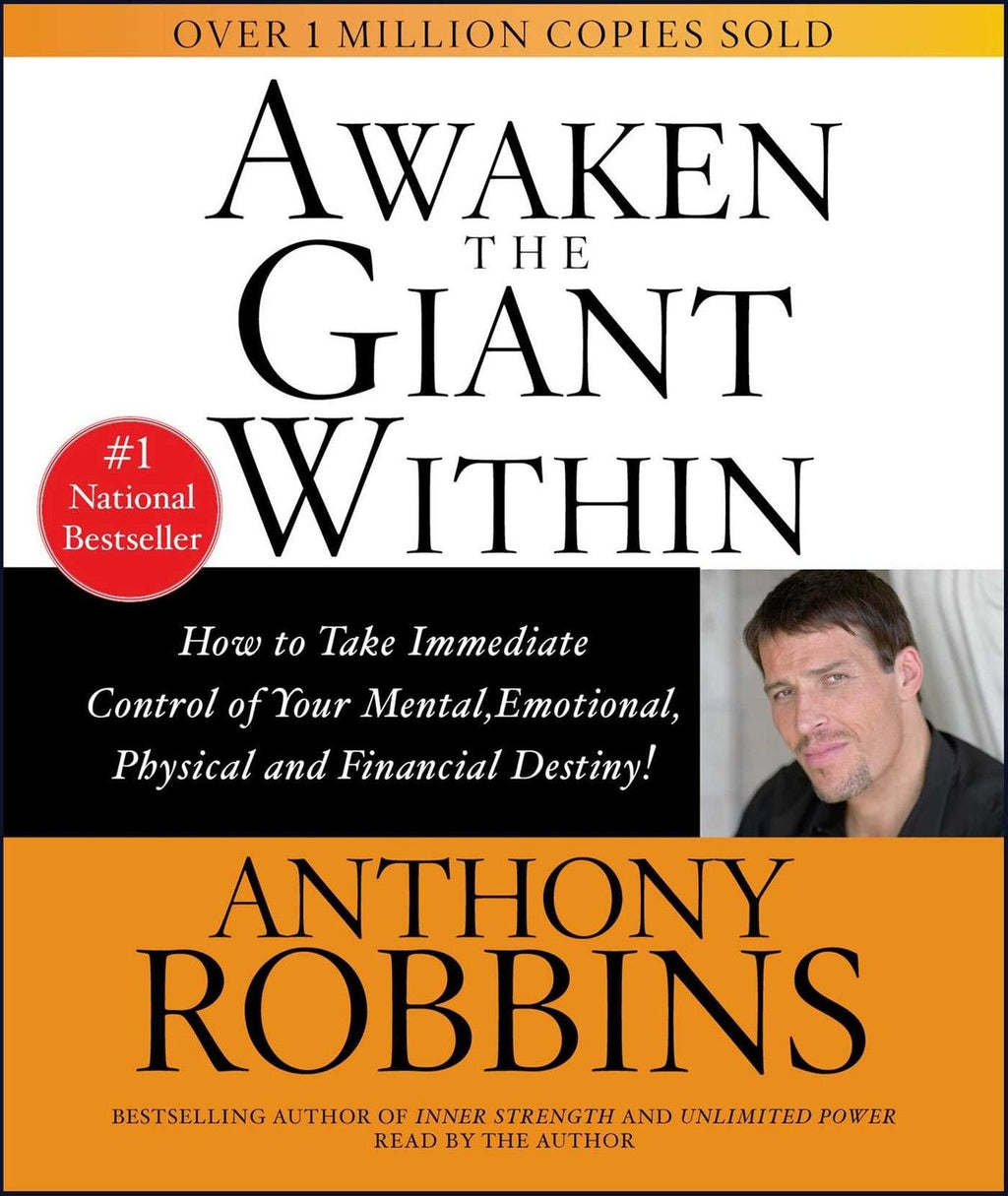 Awaken The Giant Within by Anthony Robbins, Audio CD