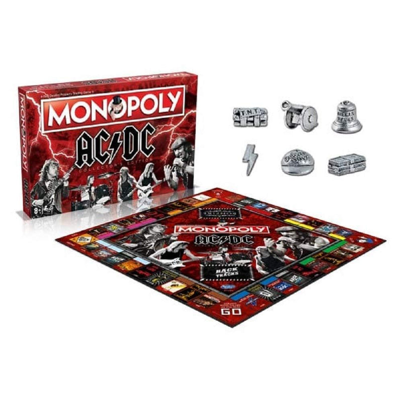 AC/DC Monopoly Game
