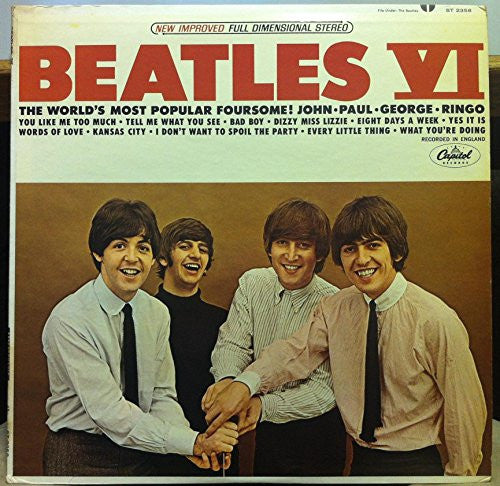 THE BEATLES VI vinyl record Rare New Copy