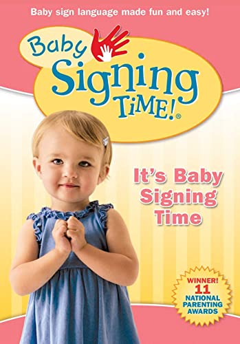Baby Signing Time Volume 1 DVD - It's Baby Signing Time