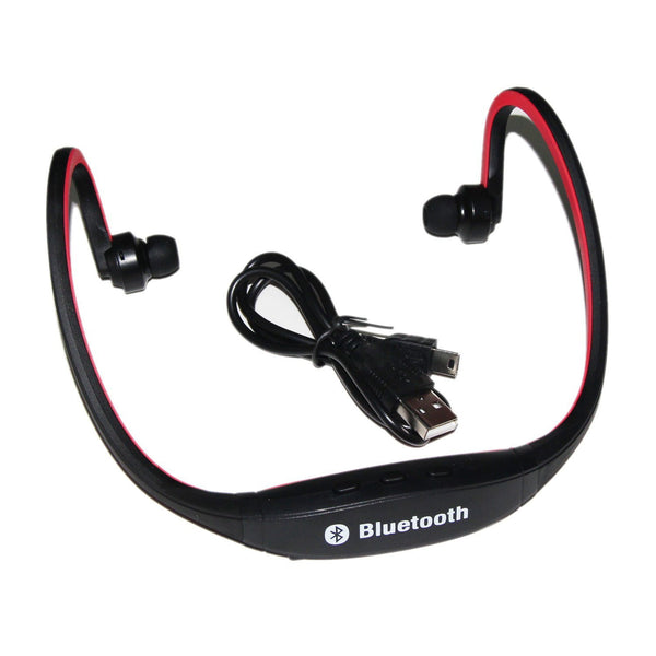 Iwoo Sports Bluetooth Wireless Headset Headphone Iphone Laptop ext..