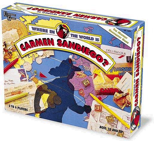 Where in the World is Carmen Sandiego Board Game