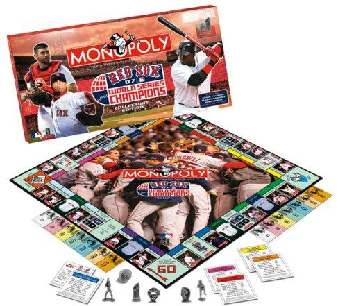 Boston Red Sox 2007 World Series Monopoly
