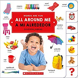 All Around Me English Spanish Bilingual Board Book